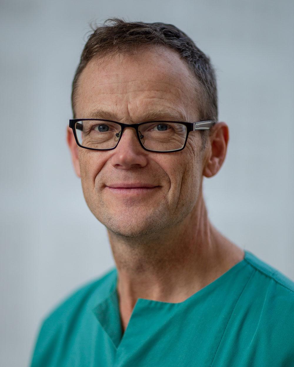 Henrik Brun, overlege ved Barnekardiologisk avdeling, Rikshospitalet, OUS. Foto: Holocare.